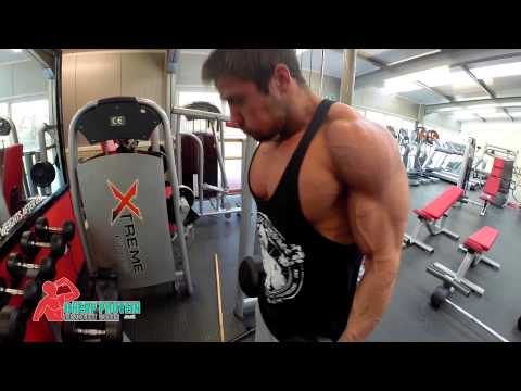Heavy Chest and Heavy Bicep Workout – Aesthetic Bodybuilding Motivation Workout