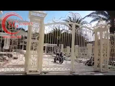 Video thi công tường rào Châu Âu