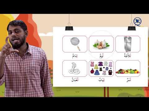 School of Qura'n Online Classes   Episode 9   Grade 1   Arabic   Chapter 6