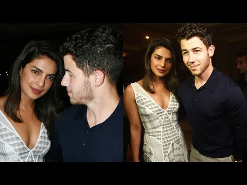 Priyanka Chopra - Nick Jonas and Families on a Din