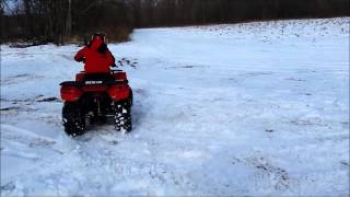 8. Arctic Cat 150 vs Frosty