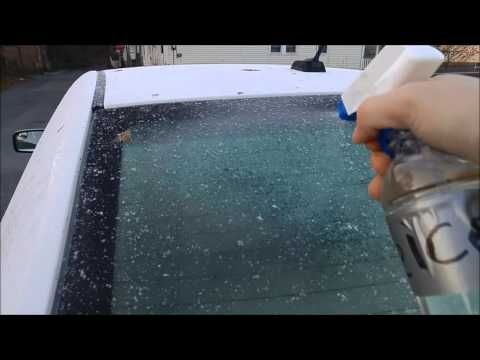 How to make a  very cheap home made De Icer Spray  (to Defrost your car) and Review