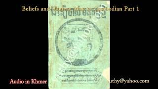 Khmer Documentary - Beliefs and Modern Man in Khmer Audio