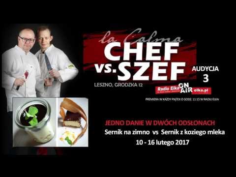 Wideo1: Chef vs Szef - potyczka 3. Sernik na dwa sposoby na Grodzkiej 12