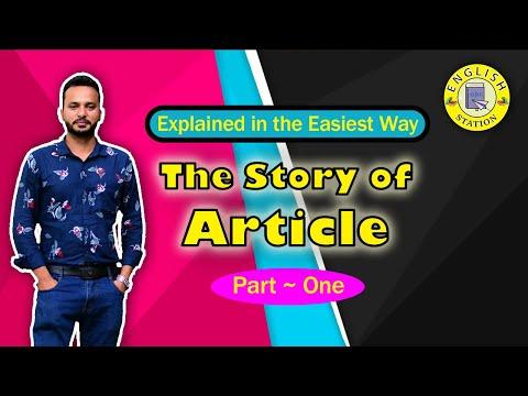 English Grammar | Article | Explained Easily | English Station | Forhad Rukon