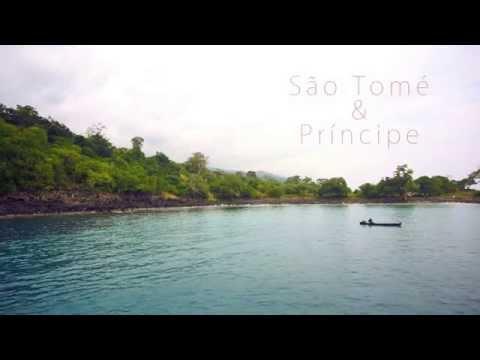 São Tomé Drone Video