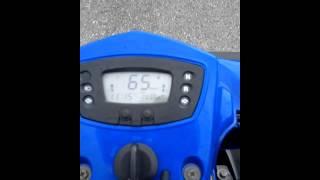 3. Kymco MXU 250 Speedtest Tacho