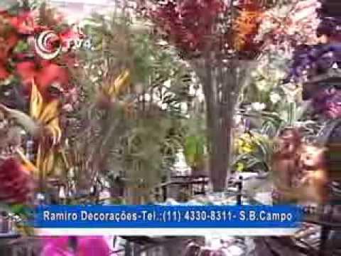 Ramiro - Flores artificiais, ambientes planejados, festas e decorações em São Bernardo e todo o ABC.