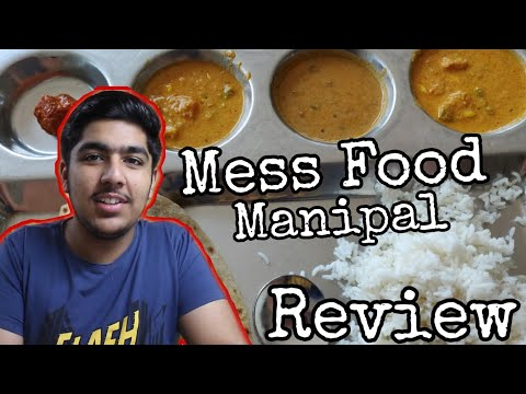 [Hindi] Manipal Mess (MIT) Food Full Review | Pictures | Menu | Quality | Manipal University