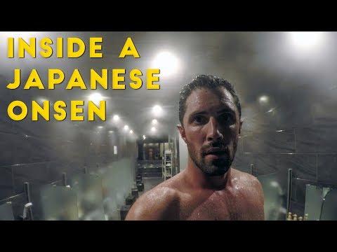 My First Japanese Onsen Experience  | Nozawa Onsen (видео)
