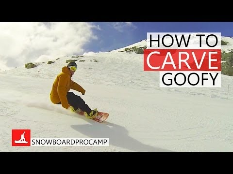 How to Carve on a Snowboard Goofy – How to Snowboard