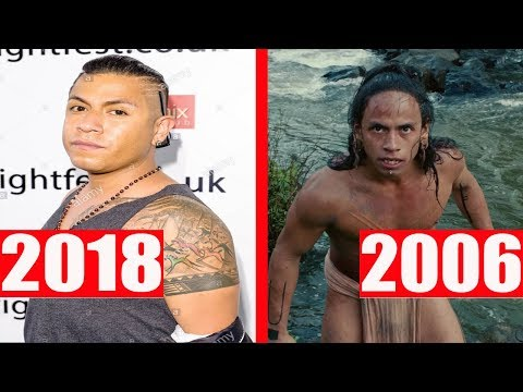 Apocalypto (2006) Cast: Then and Now 2018