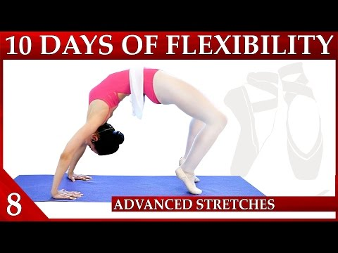 Flexibility Day 8 Advance Stretches – 10 Day Flexibility Challenge – Dance with Catherine