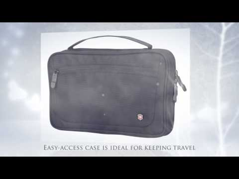 Victorinox Slimline Toiletry Kit Bi-Fold Essentials Case
