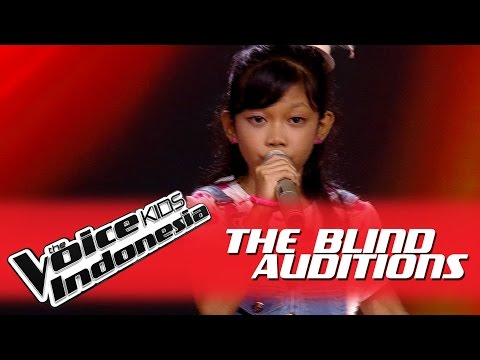 "Putri ""Halo"" I The Blind Auditions I The Voice Kids Indonesia GlobalTV 2016"