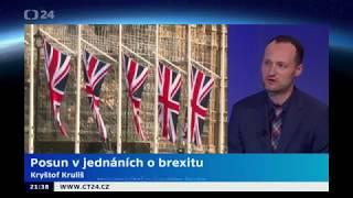 Horizont ČT24: Posun v jednáních o brexitu