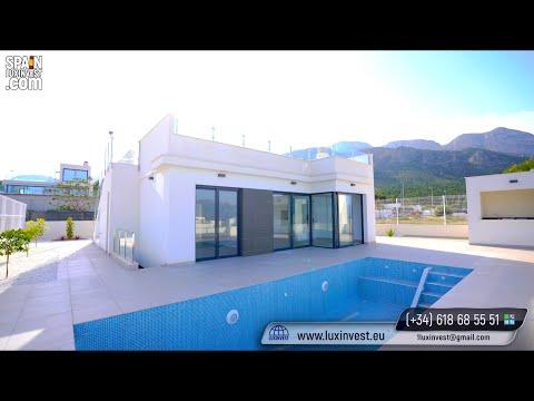 325000€+/Недвижимость в Испании/Купить дом в Бенидорме/Современные виллы на Коста Бланке/Полоп