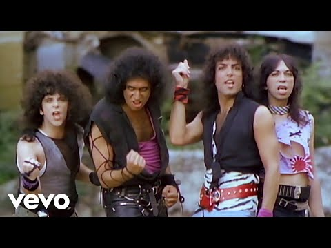 Kiss - Music video by Kiss performing Lick It Up. (C) 1983 The Island Def Jam Music Group.