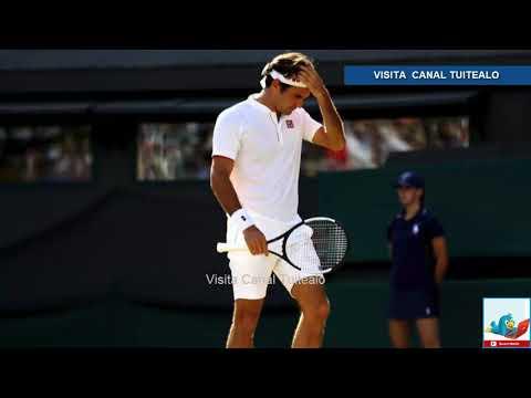 Kevin Anderson elimina a Roger Federer en gran partido de Wimbledon