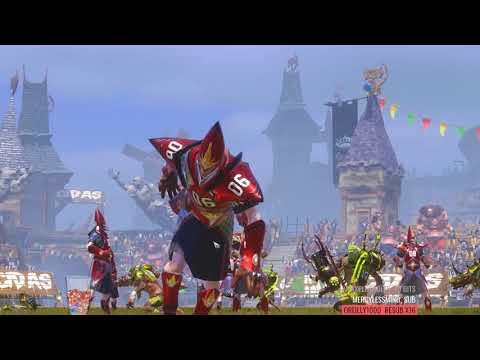 Twitch Blood Bowl Tourney Match: Skaven vs High Elves (видео)