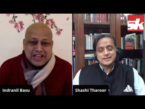 SKLIVE with Dr Shashi Tharoor On India Australia Test Series