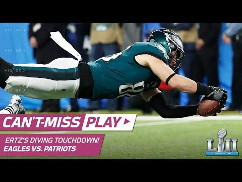 Video: Nick Foles Hits Zach Ertz for the Go-Ahead TD! | Can't-Miss Play | Super Bowl LII NFL Highlights