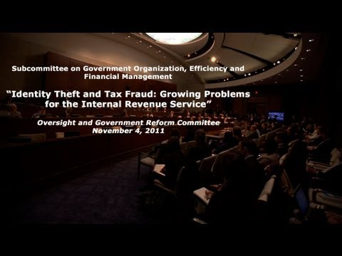"""Identity Theft and Tax Fraud: Growing Problems for the Internal Revenue Service"""