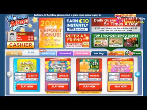 Wonder Bingo - Closed 07/12 Video Review