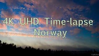 4K Cloud Timelapse - Norway - 4