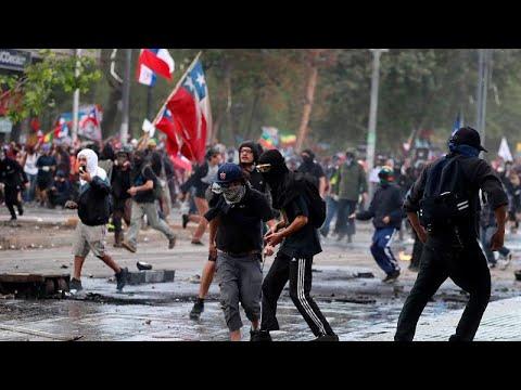Χιλή: Νέες ταραχές