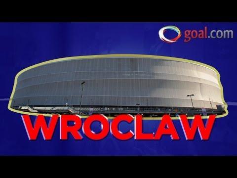 La ciudad de Wroclaw y su estadio
