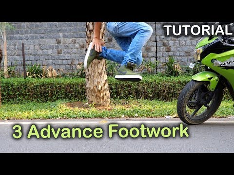 3 Advance Footworks You Should Know | Tutorial