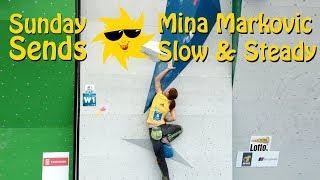 Mina Markovic Slow & Steady   Sunday Sends by OnBouldering