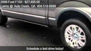 2009 Ford F150 Platinum - for sale in Alphareta, GA 30004