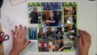 Create. Inspire. Enjoy. Here's a short video on a grid design one page layout. The football font is my favorite thing about this layout. Thanks for watching!http://cardcreationsbykim.blogspot.com