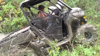10. Can-am Defender HD-10 Operation Muskeg Firewood
