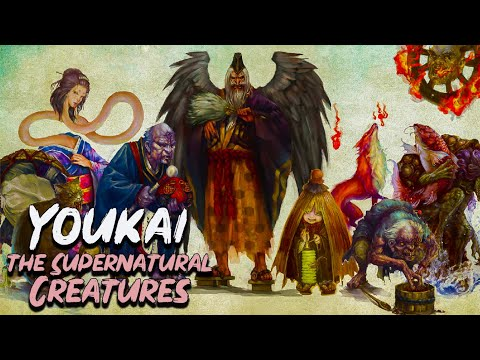 The Yokai: 12  Amazing Supernatural Creatures from Japanese Mythology - See U in History