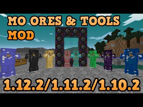 MO ORES AND TOOLS MOD (1.12.2/1.11.2/1.10.2)! Minecraft review en español 2017