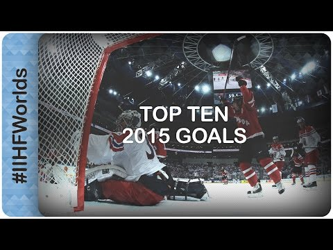 Top 10 goals of the 2015 IIHF Ice Hockey World Championship | #IIHFWorlds 2016 (видео)