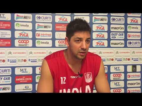Imola, Prato racconta l'avvicinamento al match contro Mantova