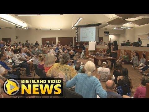 Kona Packs Meeting Over Air Quality Concerns (Jun. 6, 2018) (видео)