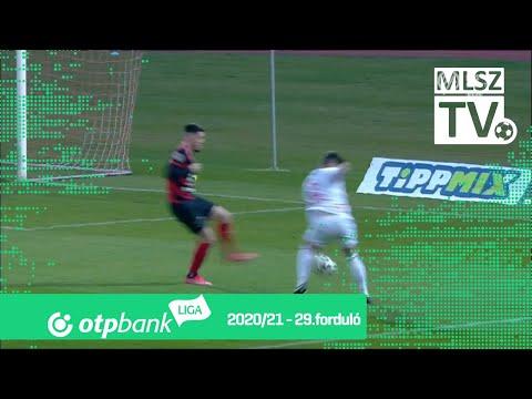Asmir Suljić 2. gólja (BMTE - DVTK, 29. forduló)