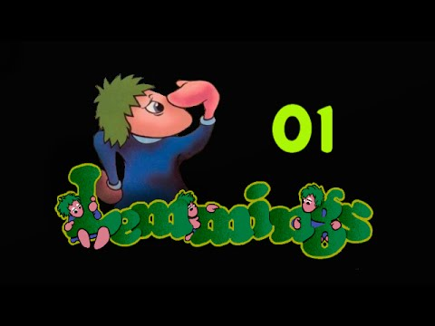 Let´s Play Lemmings - German - Part 01