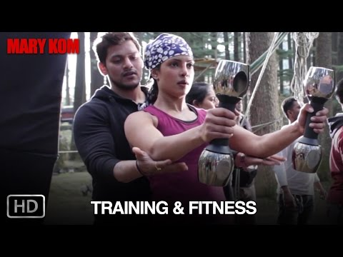 Mary Kom Making of 'Training & Fitness'