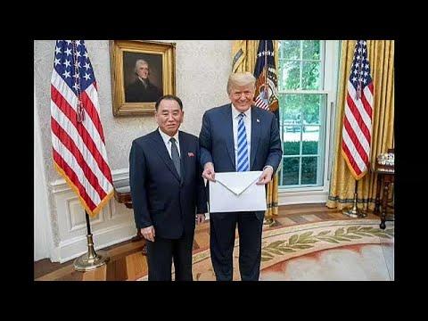 Ehemaliger nordkoreanischer Geheimdienstchef Kim Yong Chol überbringt Post aus Pjöngjang