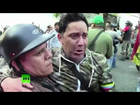 PRIMERAS IMÁGENES: El pueblo venezolano tras el anuncio de la muerte de Hugo Chávez