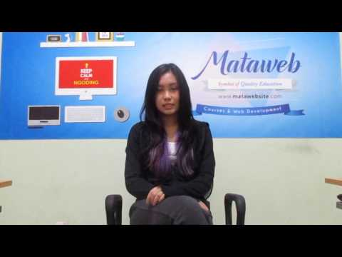 Testimoni Kursus Website  Audelia