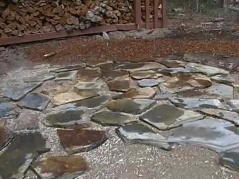 Flagstone Patio Installation From Start To Finish