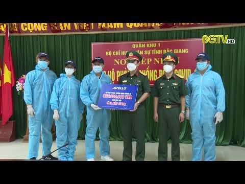 Apollo Silicone góp quĩ hơn 2,5 tỷ đồng phòng chống dịch tại Bắc Ninh - Bắc Giang