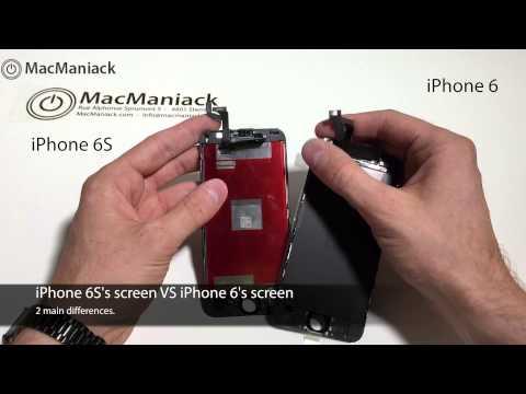 Video so sánh màn hình iPhone 6 và 6s